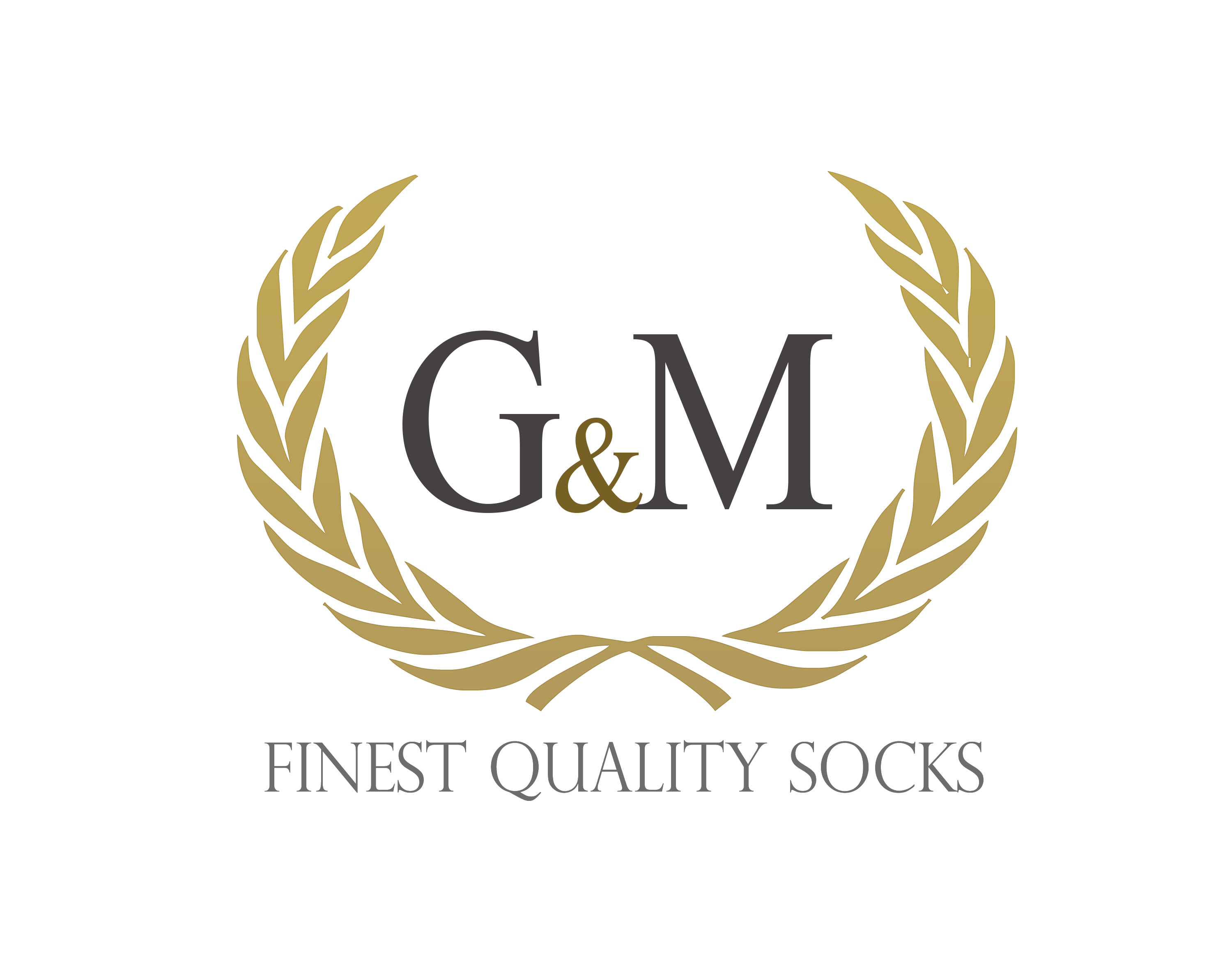 Logo G&M socks